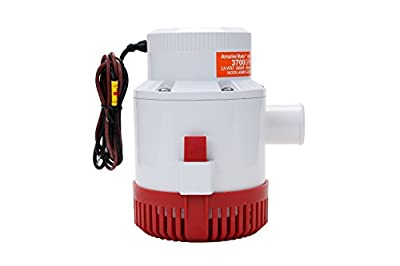 Amarine-made 3700 GPH 12v Boat Marine Plumbing Electric Bilge Pumps (3700gph 12v)
