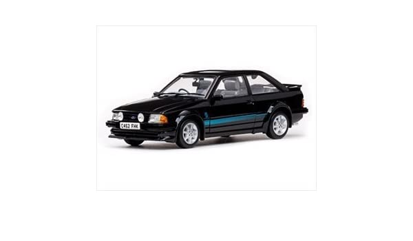 Amazon.com: 1984 Ford Escort RS Turbo Black 1/18 by Sunstar 4962R by Collectable Diecast: Toys & Games