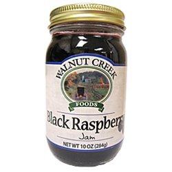 Amish Black Raspberry Jam 9 oz Ohio (Raspberry Walnut Cake)