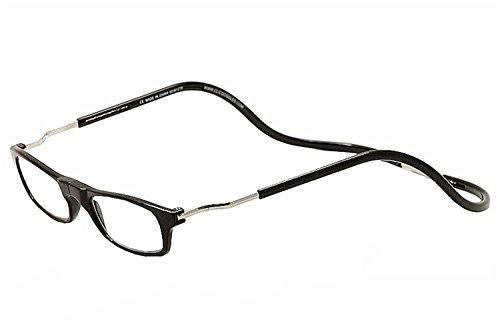 Clic Black Expandable XXL Reading Glasses, Black +1.75