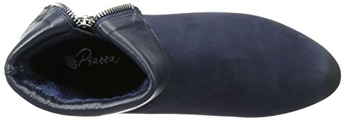 Piazza Unisex Adults' 961524 Boots, Blue (Blau), Red