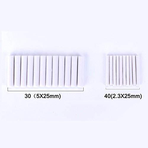 Teekit 2.3mm 5mm Borrador el/éctrico Recarga Borrador Borradores de reemplazo Borradores de Esbozo