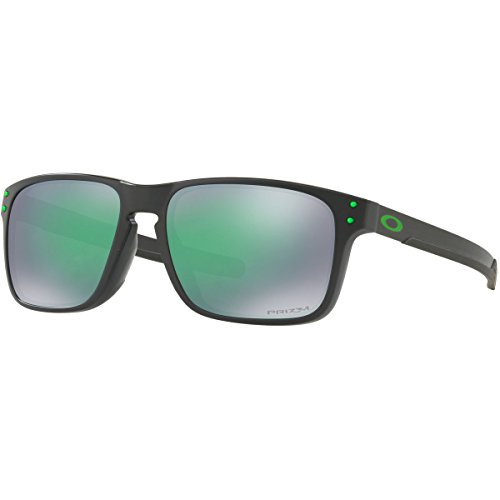 Oakley Men's Holbrook Mix (a) Non-Polarized Iridium Rectangular Sunglasses, Matte Black Ink, 57.0 - New Sunglasses 2017 Oakley