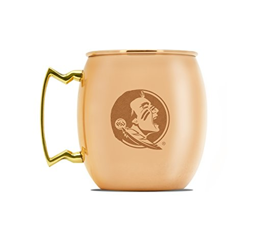 NCAA Florida State Seminoles 16oz Copper Moscow Mule - Duck Florida State