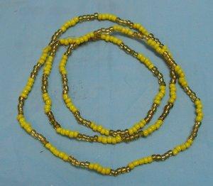 Amazon.com : Collar De Oshun Santo Santeria Orisha Eleke