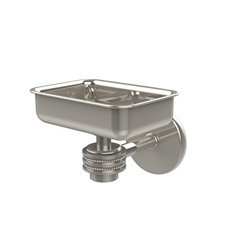 - Allied Brass 7132D-PNI Satellite Orbit One Wall Mounted Soap Dish with Dotted Accents Polished Nickel
