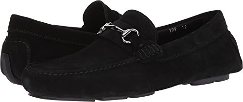 Op Te Starten New York Mens Lee Loafer Zwart Suède Softy