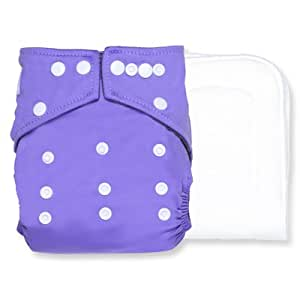 Bamboo Charcoal Pocket Diaper (Purple)