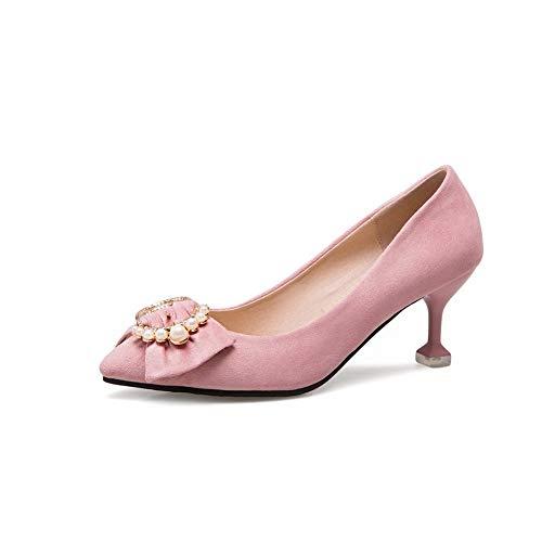 5 APL10633 Rose EU 36 Rose Sandales Femme Compensées BalaMasa 0qdPg4ww