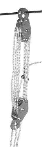 Berger /& Schr/öter 60004 Pulley Hoist with 8 Guide Pulleys 300 kg