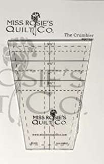amazon com the lil crumbler tumbler quilting template ruler by
