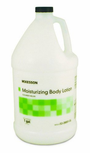 McKesson Moisturizing Body Lotion, Cucumber Melon Scent – 1/One Gallon - Cucumber Moisturizing