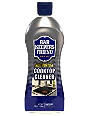 Bar Keepers Friend 11613 Multipurpose Cooktop Soft Liquid Cleaner 13-Ounce