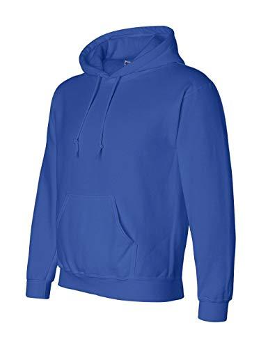 Gildan G125 DryBlend Adult Hooded Sweatshirt, Royal, -