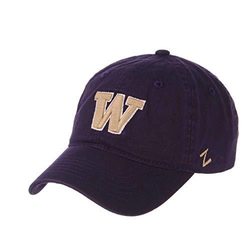 (NCAA Washington Huskies Men's Scholarship Relaxed Hat, Adjustable Size, Team Color)