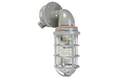 (100W Explosion Proof Incandescent Light Fixture - C1D2-1470 Lumens - Aluminum Body - NEMA 4 )