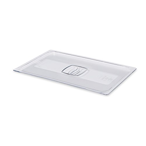 Rubbermaid Commercial Full-Size Cold Food Pan Cover, FG134P00CLR by Rubbermaid Commercial Products (Image #2)