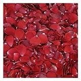 Valentine Red Rose Petals - 120 cups wedding rose petals