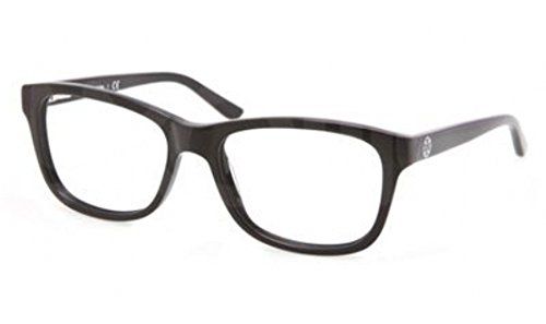 Tory Burch TY2038 Eyeglass Frames 501-52 - Black Frame, Demo Lens