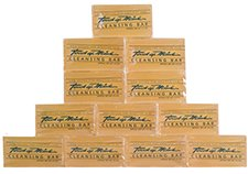 Natural Mink Oil Soap Bars - Neutral Scent Mens and Womens Daily Cleanser With Moisturizing Vitamin E - Soft Facial and Body Wash - Also Great Non-Drying Shaving Soap For Everyone! - Bulk 12 Pack