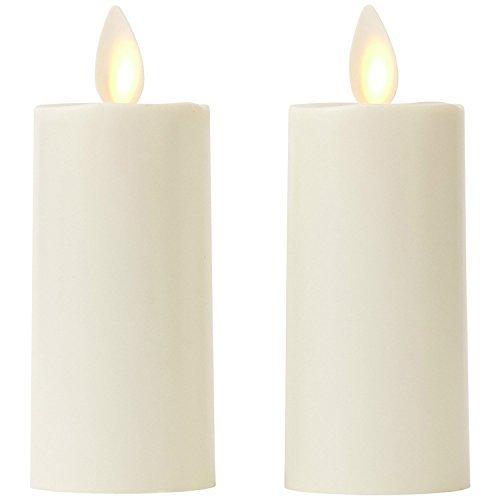 Set of 2 Luminara Votive Flameless Candles: 1.75