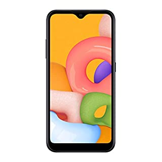 Samsung Galaxy A01 PRE-Paid LTE Verizon | 16GB of Storage | Long Lasting Battery | Single SIM | 2020 Model | US Version & Warranty| Black - (SM-A015VZKPVZW)