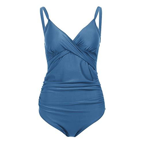 d5f3ac63444587 Junjie Schwangere Frau Pure Color Push-Up Gepolsterter BH Strand Bikini Set  Badeanzug Padded Bikini
