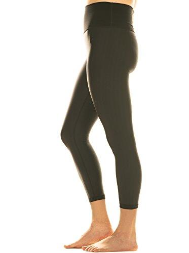 OCM Women's Standard On The Move Legging, Black, 16 (Ocm One)
