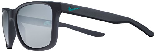 Nike EV0921-400 Unrest Sunglasses (Frame Grey with Silver Flash Lens), Matte Dark - Sunglasses Unrest
