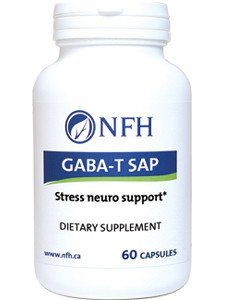 (Nutritional Fundamentals for Health GABA-T SAP 60 caps by NFH-Nutritional Fundamentals for Health)