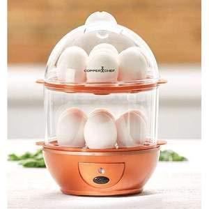 Dharmsut Double Layer Egg Boiler Electric Cooker/Poacher