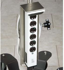CLINTON IV/INFUSION STAND OPTIONS Outlet strip Item# - Clinton Outlets