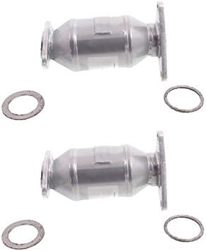Catalytic Converter Compatible with 2001-2006 Lexus LS430 Aluminized Steel Tube