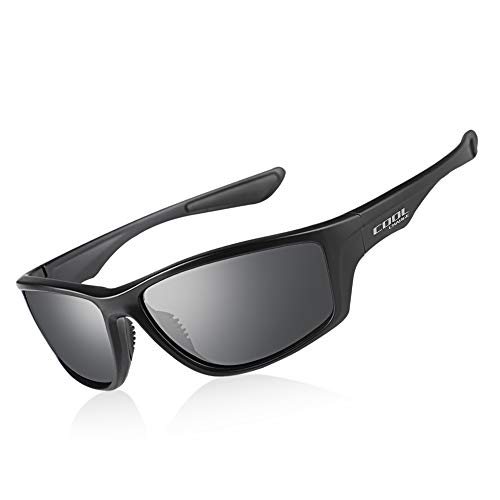 Cool Change Polarized Sports Sunglasses TR90 Lightweight Frame|UV400 Protection|Ergonomic Fit Sport Glasses for Men - Golf Polarized Sunglasses
