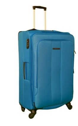 Tommy Hilfiger Polyester 80 cms Lt. Blue Soft sided Suitcase