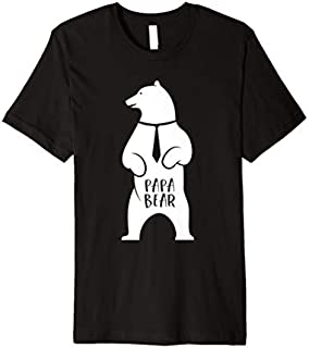 ⭐️⭐️⭐️ Papa Bear  Father's Day Best Gift For Papa Need Funny Short/Long Sleeve Shirt/Hoodie