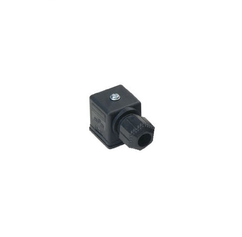 Brad C28300N0R mPm Field Attachable DIN Valve Connector, Form A, External Thread, Non-Electronic, 3 Pole, 16.0A Max Current Rating, 250V AC/300V DC Max Voltage, 18.00mm Pitch (Pack of (Attachable Connector)