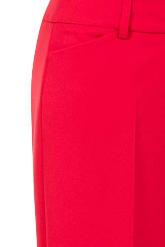 Pantalon Femme Tapered Uni Promiss Rouge vx71ww6