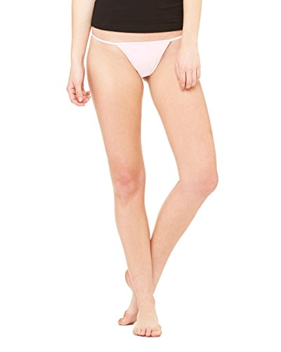 Bella Women's Cotton/Spandex Thong BEL301, Small,