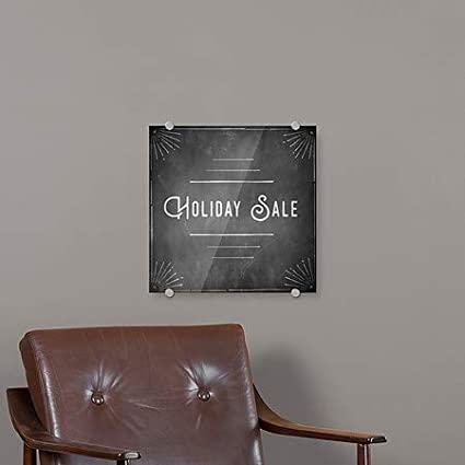Holiday Sale 5-Pack Chalk Corner Premium Brushed Aluminum Sign CGSignLab 16x16