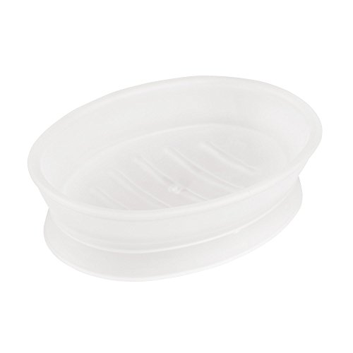 (InterDesign Franklin Soap Dish, Clear Frosted )