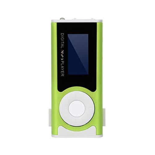 Tralntion Digital Music MP3 Player Mini USB OLED Screen MP3 Support 16/32GB Micro SD TF Card Light Clip Design Flashlight (Iris Johansen Mp3 Books Audio By)