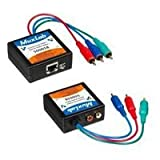 BALUN M TWO PACK COMPONENT VIDEO STEREO AUDIO