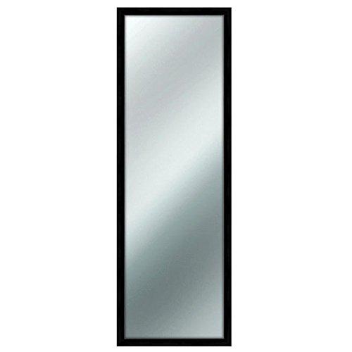 Specchio da parete MIRROR RAINBOW 40x125 cm colore Nero Lupia