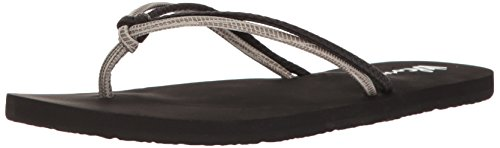 Chanclas mujer Volcom Forever And Ever Negro Combo Black Combo
