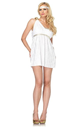 [8eighteen Sexy Greek Goddess Athena Adult Halloween Costume] (Athena Greek Goddess Costume Child)