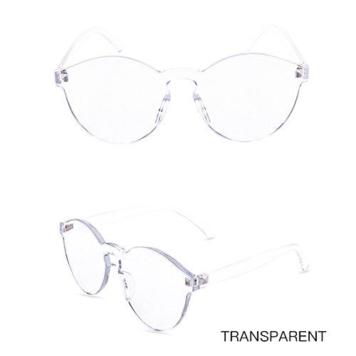 Gafas Mujeres Transparentes De Sin De Vintage Transparente Gafas Sol Gafas De Sol Bastidor Color Chica De Las Transparent De TIANLIANG04 qZpwS8gIa