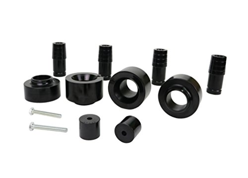 - Nolathane REV218.0004 Black Front and Rear Coil Spring Lift Isolator with Extended Bump Stop Bushing-1-1/2 in