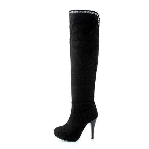 1TO9Mns02084 - A Collo Alto Donna, Nero (Black), 35