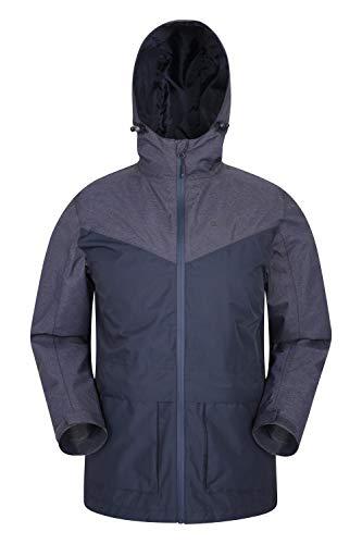 Mountain Warehouse Altitude Herren-Jacke – wasserdichte Regenjacke, versiegelte Nähte, verstellbare Passform, Front-Taschen – für Sommer, Wandern, Reisen